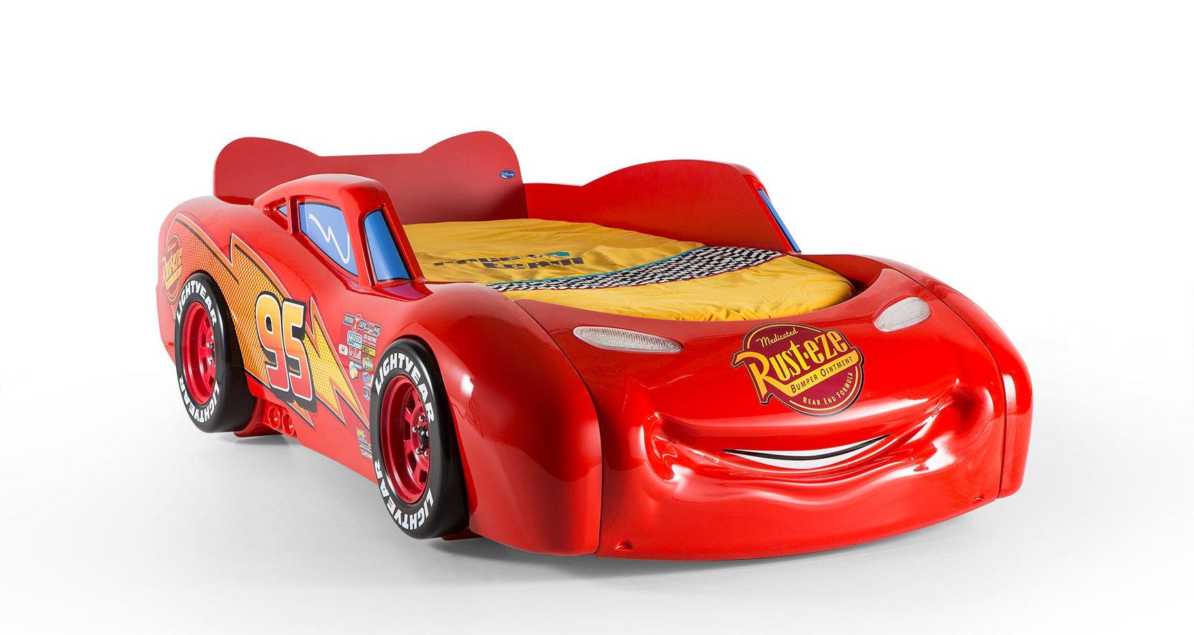 Lightning Mcqueen Bett Selber Bauen : Disney Cars  Autobettenzimmer  Autobetten  TrauM-Moebel.com