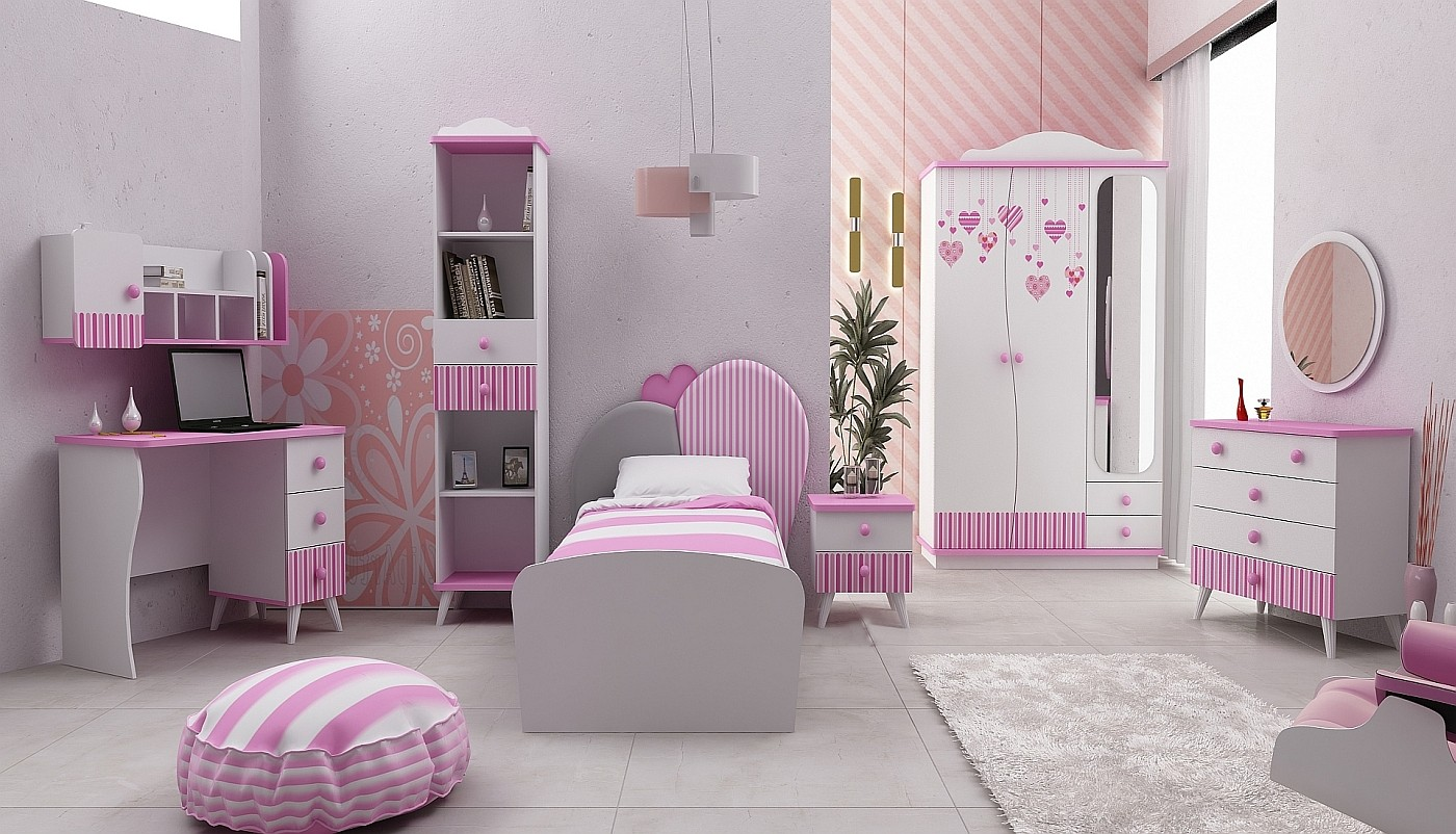 kinder jugendzimmer traum. Black Bedroom Furniture Sets. Home Design Ideas