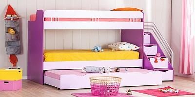 kinderbetten jugendbetten online kaufen jungenbetten oder m dchenbetten traum. Black Bedroom Furniture Sets. Home Design Ideas