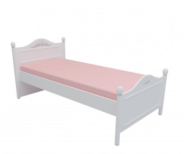 Kinderbett 90x200 Siena weiss