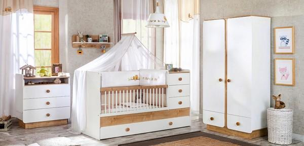 Sparset 5 tlg. Babyzimmer BABYNATURA