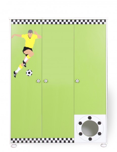 Football Kleiderschrank 3 trg.