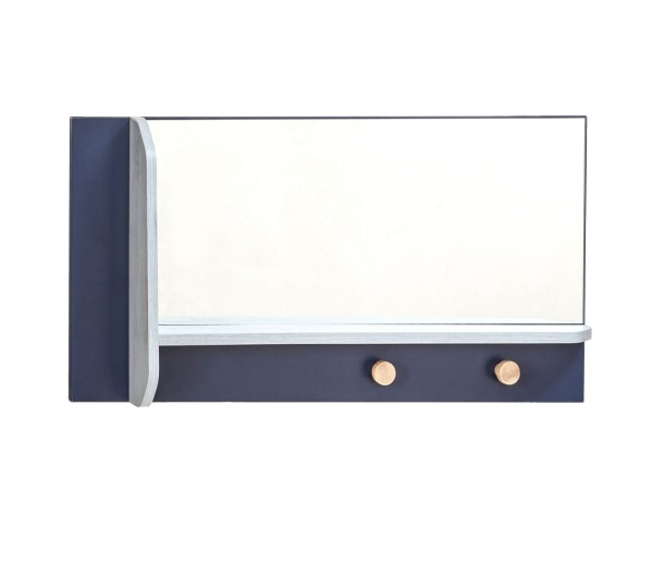 Wandspiegel TRINO mit Aufhänger - vertikal/horizontal