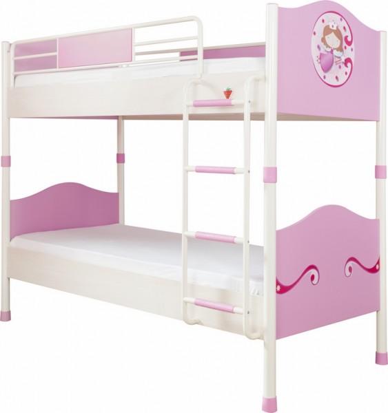 "Etagenbett 90x200cm ""Princess"" pink"