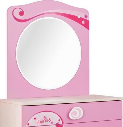 Spiegel PRINCESS pink