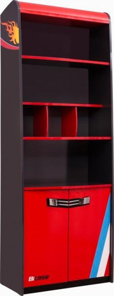 Bücherregal RACER rot