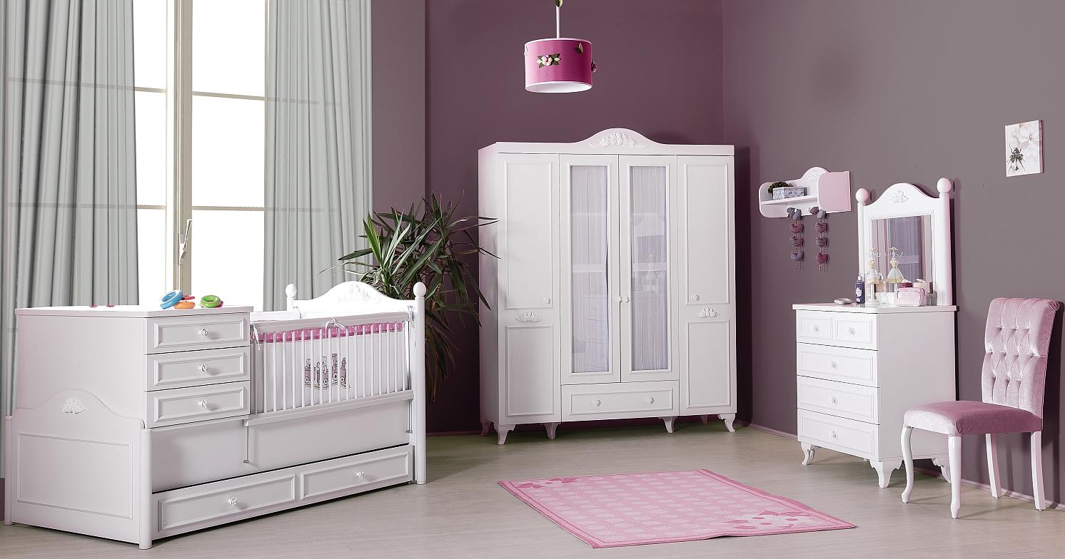 wandregal siena mit kleiderhaken f r kinderzimmer traum m. Black Bedroom Furniture Sets. Home Design Ideas
