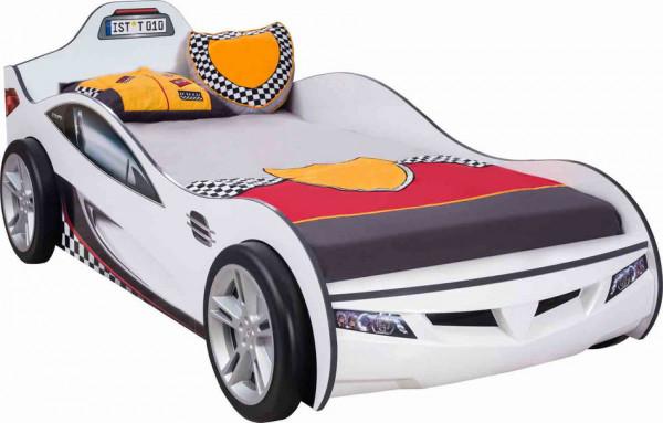 Autobett RACER COUPE weiss