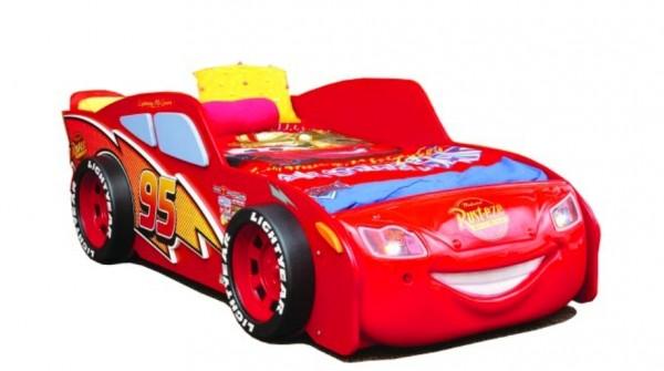 Autobett Disney CARS mit Rost und Matratze