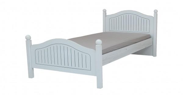 Kinderbett 120x200cm Tiamo in weiss