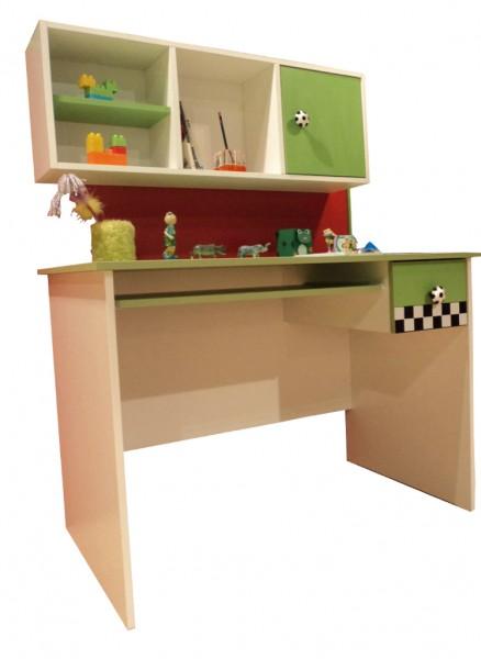 schreibtisch football gr n traum m. Black Bedroom Furniture Sets. Home Design Ideas