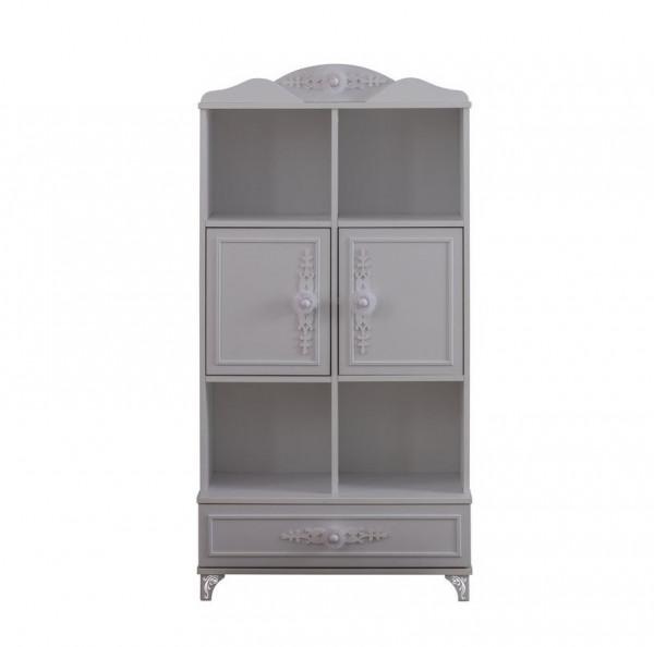 Bücherregal mit Schublade PETTY weiß