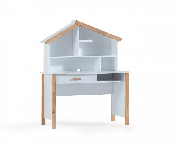 Schreibtisch HOUSE mit Aufsatz