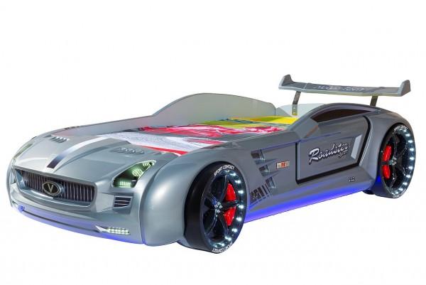 Autobett Roadster Classic silber