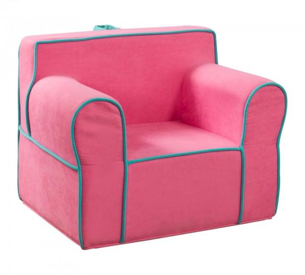 Kinder Mädchen Sessel pink