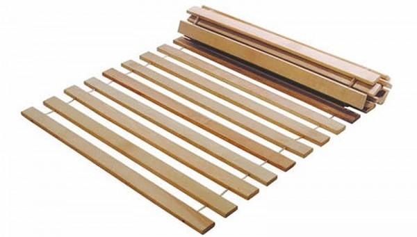 Rollrost für Betten HOLZROST zerlegt 90x200cm