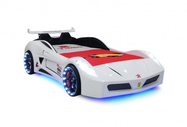 Autobett Turbo V7 Sportpack weiss