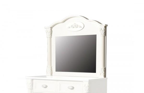 romantischer spiegel in weiss zum aufh ngen traum. Black Bedroom Furniture Sets. Home Design Ideas