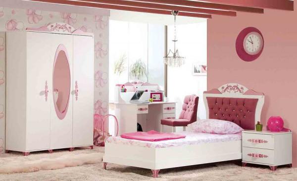 SPAR-SET4 Kinderzimmer PRETTY rosa, 3-teilig