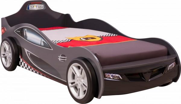 Autobett RACER in schwarz