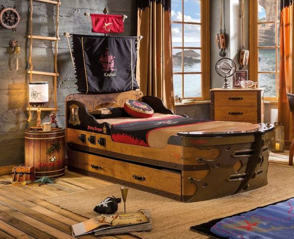Kinderzimmer Komplett Pirat Sparset 4 Teilig Traum Möbelcom
