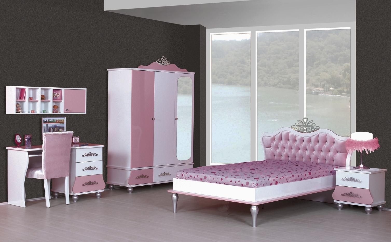 Sparset Komplettzimmer 6 tlg. ANASTASIA rosa | TrauM-Moebel.com