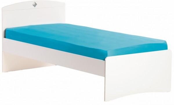 Kinderbett 90x200cm ACTLIFE weiss