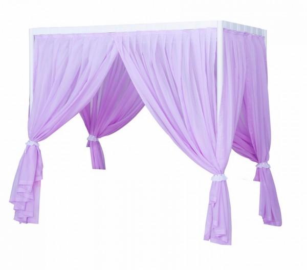 Vorhang für Himmelbett CINDY in lila