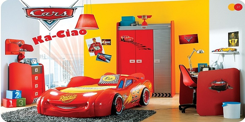 antibakterielle autobetten mit led und kinderzimmer von bymm disney cars planes frozen m bel. Black Bedroom Furniture Sets. Home Design Ideas