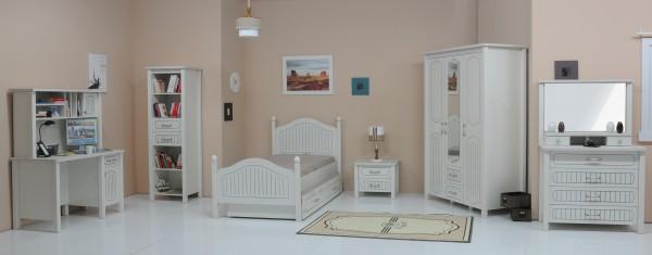 Komplett Kinderzimmer TIAMO weiss - Sparset 7 tlg. | AKTIONSPREIS