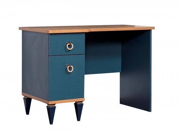 Schreibtisch Moss blau ohne Aufsatz