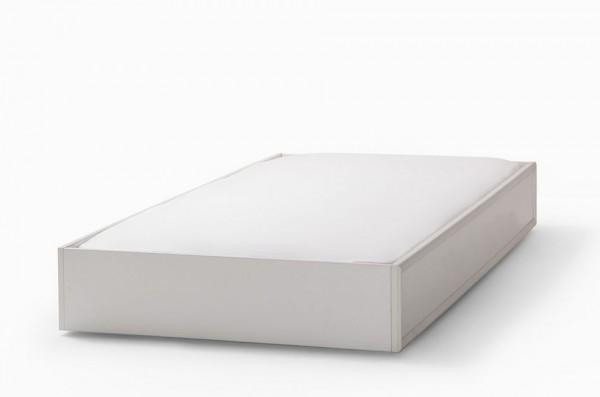 Bettschubkasten ROMANTIK weiß, 90x190cm