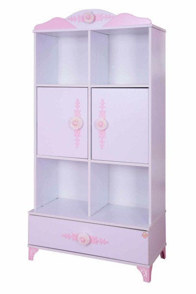 Bücherregal Pretty rosè