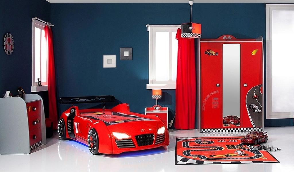 Kinderzimmer turbo rot komb 1 set 4 teilig traum m - Kinderzimmer rot ...