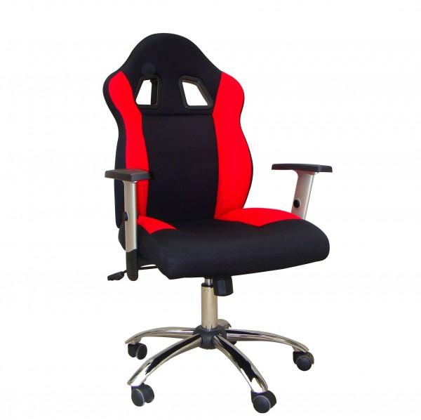 Kinder Schreibtisch Stuhl TURBO rot