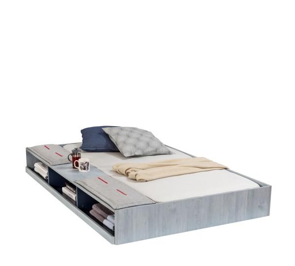 Bettschubkasten 90x190cm TRINO mit Staufach