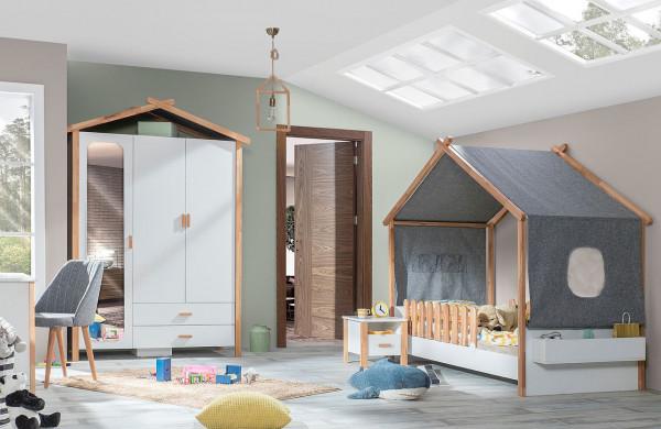 SPAR-SET2 Kinderzimmer HOUSE, 4-teilig