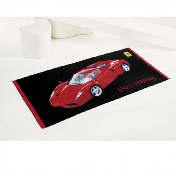 Handtuch ENZO mit Rennwagenmotiv