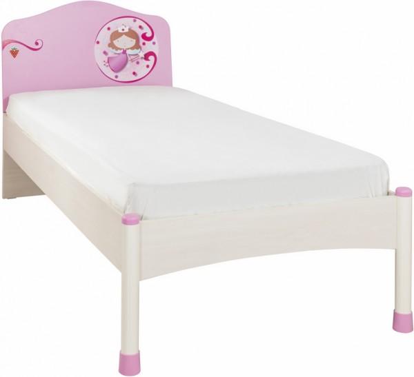 "Kinderbett ""Princess"" pink 120x200cm"