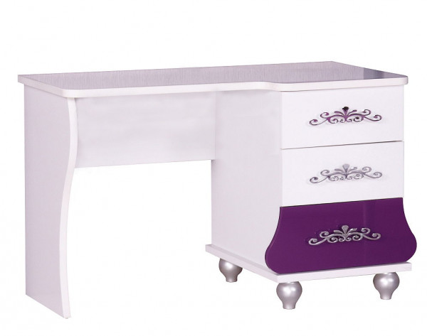 Anastasia lila Schreibtisch