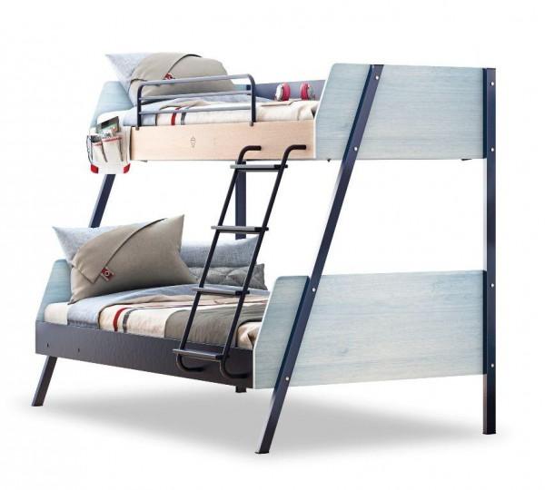 Cilek Trio Etagenbett mit 2 Bett 90x200 und 120x200