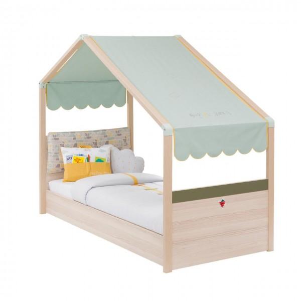 Kinderbett 90x200cm MONTI mit Dach
