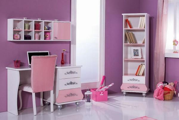 SPAR-SET10 Kinderzimmer ANASTASIA rosa, 4-teilig