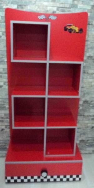 Bücherregal Formula rot 2. Wahl