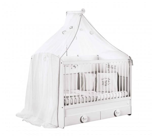 Himmelvorhang, Mosquitonetz für BABYCOTTON Babybett