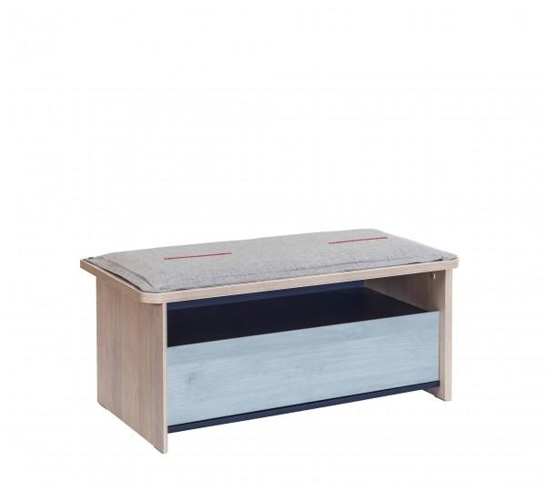 Sitzbank TRINO gepolstert mit Schublade