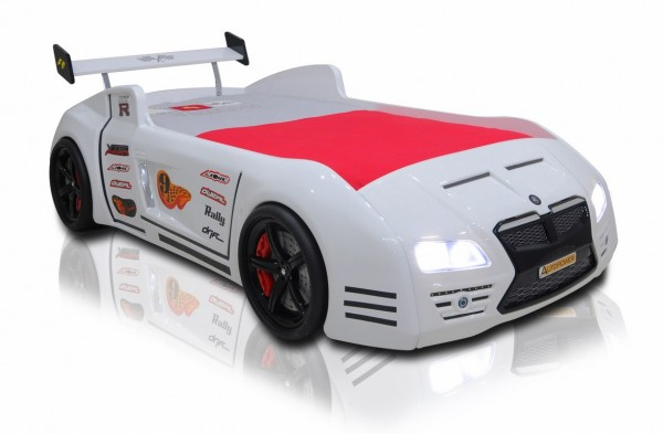 Autobett Whitecar V6 weiss Auslauf