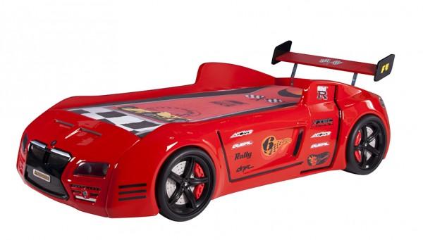 Autobett Redcar V6 rot Auslauf