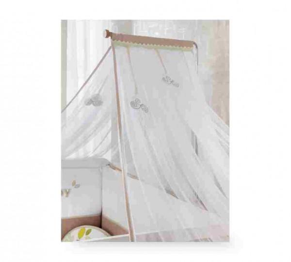 Himmelvorhang, Mosquitonetz für BABYNATURA Babybett