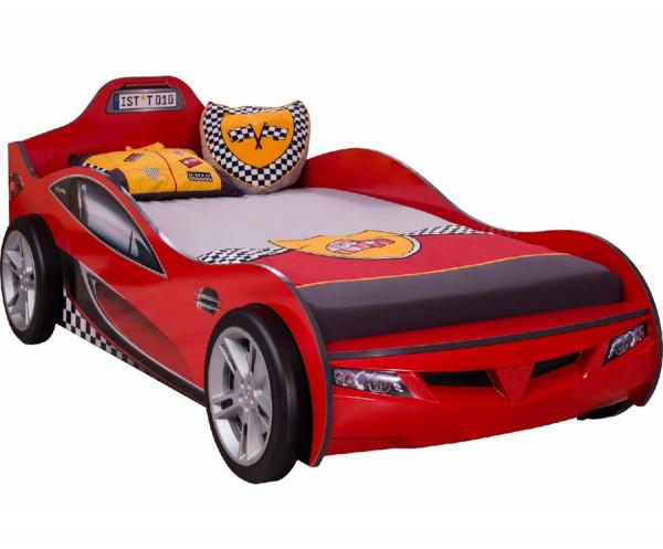 Autobett RACER in rot